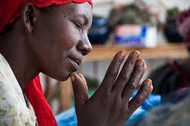 BLOG PRAYING MOTHER